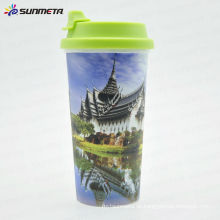 Sunmeta Direct Factory Versorgung Hot Selling Starbucks Kunststoff Kaffee Tasse Druck Tasse