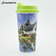 Sunmeta Diretamente Fábrica de fornecimento Hot Selling Starbucks Plastic Coffee Mug Printing Mug