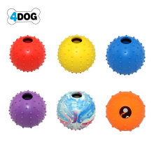 Eco-Friendly Rubber Ball Dog Toy