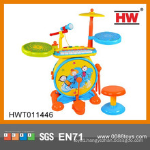 New Product Educational Musical Instrument Set Kids Plastic Drum Set Toy