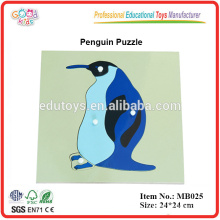 Montessori Animal Puzzle - Penguin