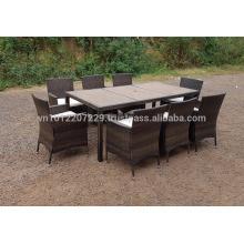 PE Poly Wicker Rattan Outdoor / Meubles de jardin - Lounge Set