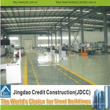 Structure en acier et entrepôt de structure métallique à faible coût