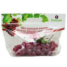 Custom logo Fruit Fresh Keeping food packaging Bag with Hole packaging bag supplier
