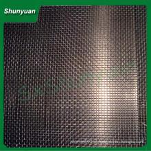 Buraco quadrado malha de arame frisado malha de tela enganchado (Fabricação direta)