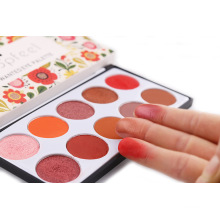 Sombra solta em pó de pigmento personalizado de marca própria