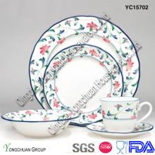 Ensemble de dîner en porcelaine décoratif (ensemble de 30)