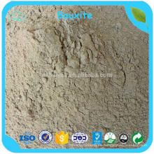 Grado refractario Al2O3 85% bauxita calcinada mínima