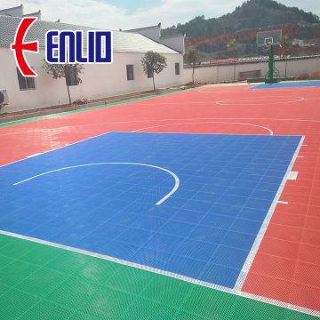 Interlocking Outdoor Court Court Tiles