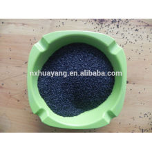 85% Al2O3 schwarz verschmolzen Aluminiumoxid polihsing Pulver Edelstahl