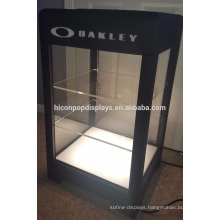 Sunglasses Retail Shop Counter Top 3-Layer Locking Light Up Acrylic Metal Eye Glasses Display Cases