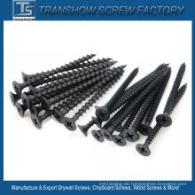 4,2 * 75 C1022 Hardend Steel Black Trockenbau Schrauben