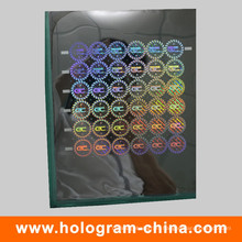 Custom Laser Security Holographic Master