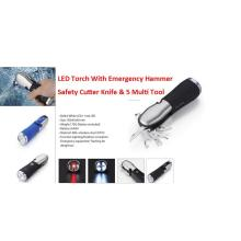 8 In 1 Multi-Tool Light With Emergency Hammer