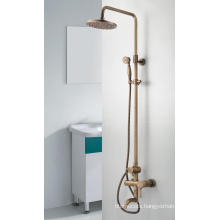 Q3078ta Antique Bronze Bath Faucet/Mixer/Tap Three Functions Shower Set with Headshower and Handshower