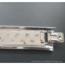 Stahl Metall Decke abgehängt System flache weiße Decke T-Gitter