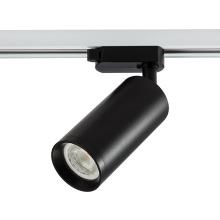 Bombilla de carcasa negra blanca lámpara de riel led