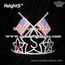 USA National Flag Whoesale Crowns