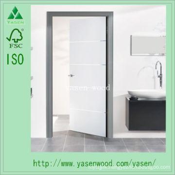 Interior White Primed Composite Wooden Door