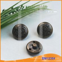 Botón de metal de lujo para chaquetas BM1239