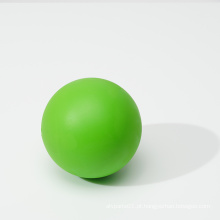 Bola sólida bola de lacrosse personalizada bola de massagem de borracha