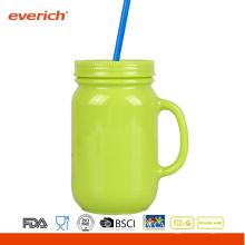 Everich Custom-made Mason Jar Travel avec carte Pvc