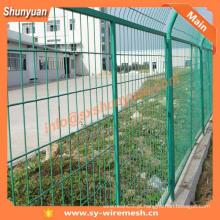 Venda quente PVC revestido de segurança Wire Mesh Fence