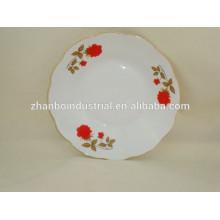 "9 ""placa de sopa de porcelana, porcelana porcelana barata"