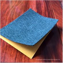 Tela no tejida con respaldo adhesivo