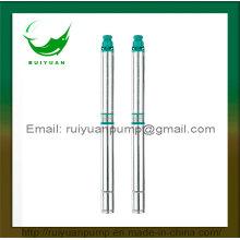 90QJD 1.5 HP fio de cobre em aço inoxidável, bombas submersível Deep Single/trifásico (90QJD2-12 / 1.1 kW)