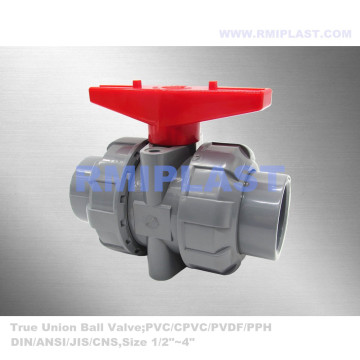 CPVC True Union Ball Ball Valve for Chemical