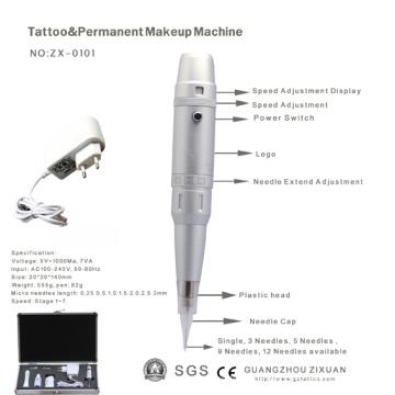 Hochwertige Digital Power Tattoo Permanent Make-up Maschine (ZX-0101)