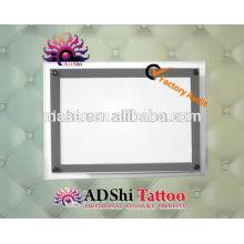 A3 & A4 Acryl Tattoo Beleuchtung Box, Acryl und LED Tattoo Licht Box, Tattoo Light Box A4 Schablone Tracing Tabelle