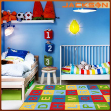 Alfombras lavables decorativas del dormitorio moderno de los niños