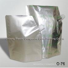 Жидкость для алюминиевой фольги в стойке с носиком, мешок для моющих средств