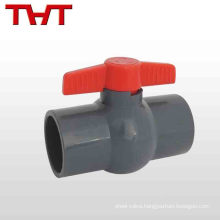 2017 high quality 12'' pvc upvc ball valve