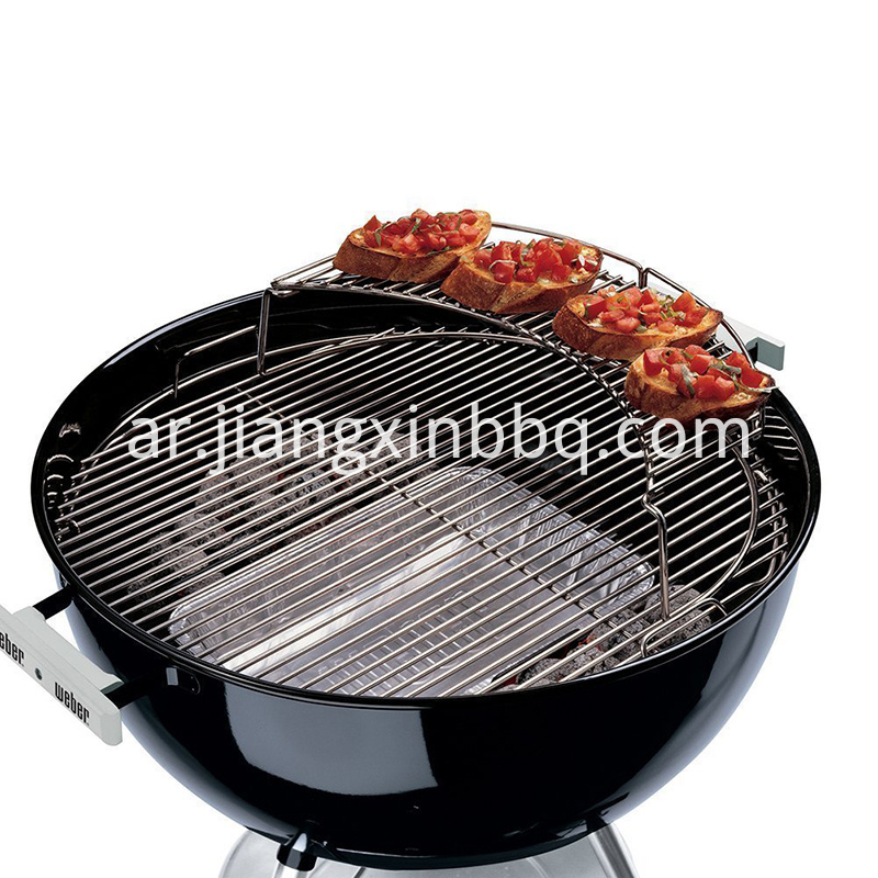 Stainless Steel Warming Black
