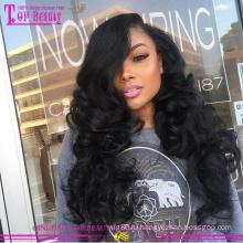 Новое прибытие 100 процентов человеческих волос парики оптовые дешевые человеческих волос парики для чернокожих женщин 2015 популярные glueless полные парики шнурка