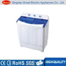 Máquina de lavar roupa semi-automática compacta