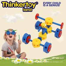 Детские легкие творческие блоки автомобилей автомобилей 3D головоломки игрушки