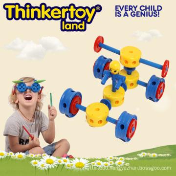 Baby Easy Creative Building Block Car 3D Puzzle Toys