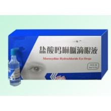 Gouttes pour les yeux au chlorhydrate de moroxydine, gouttes pour les yeux au chlorhydrate d'hydrobenzule