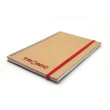 Neu Lederbezug Papier Notebook Kraft