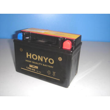 Batteries de moto au plomb 12N6-BS MF