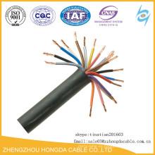 Fabricante del cable de control de la base CU / XLPE / PVC de cobre de 0.6 / 1kv 12
