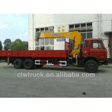 Venta caliente Dongfeng 6x4 Camión grúa 6 toneladas