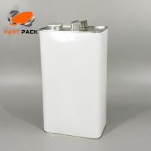 Boîte de 1 gallon (128 oz) de style F avec ouverture