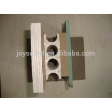 hollow core chipboard door core usage tubular chipboard door core