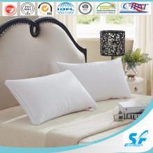 Oreiller en duvet d'édredon blanc Oeko pour hôtels