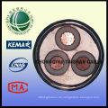 0.6 / 1 kv Antenne beschränkte Kabel 11kv Freileitung Leitung